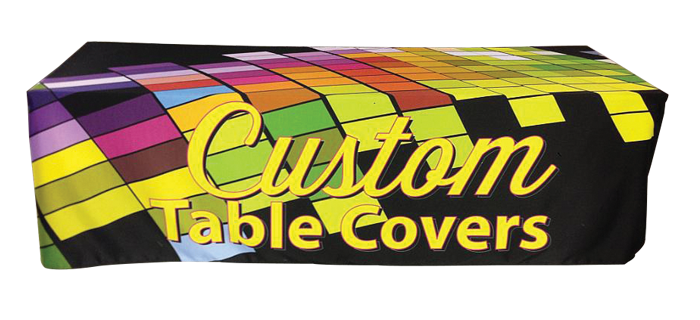 Dye Sublimated Table Drape